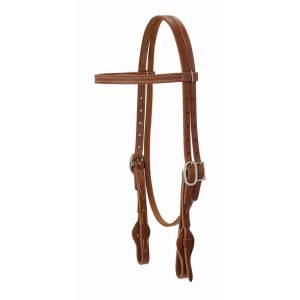 Weaver ProTack Quick-Change Straight Brow Headstall