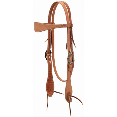 Weaver Rough Out BrowbandHeadstall