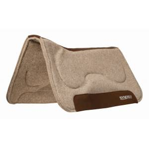 Weaver Synergy Natural Fit CloseContact Wool Felt Saddle Pad