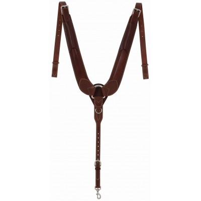 Weaver Leather Synergy Mayan Pulling Hand-Tooled Breast Collar