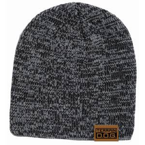 Weaver Leather Terrain D.O.G. Stocking Beanie with Engraved Leather Tab
