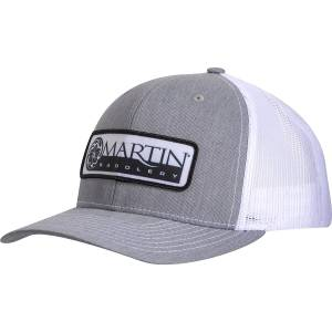 Martin Saddlery Mens Snapback Mesh Cap with Embroidered Patch Logo