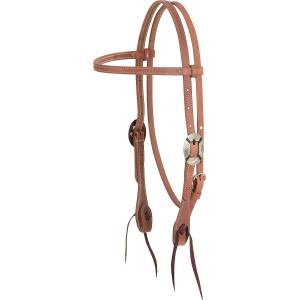 Martin Saddlery Clarendon Buckle Browband Headstall