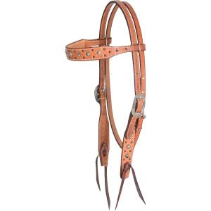 Martin Saddlery Pyramid Dots Browband Headstall