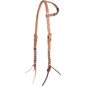 Martin Saddlery Colored Lace Slip Ear Headstall
