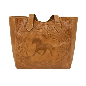 American West Hitchin' Post Tote with  Secret Compartment