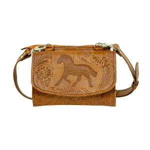 American West Hitchin' Post Texas Two Step Crossbody Bag/Wallet