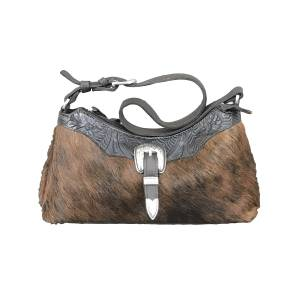 American West Cowtown Zip-Top Shoulder Bag