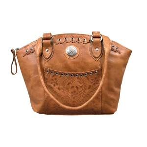 American West Harvest Moon Zip-Top Concealed Carry Bucket Tote