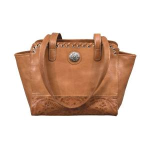 American West Harvest Moon Collection Zip Top Conceal Carry Tote