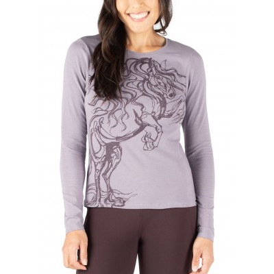 EQL by Kerrits Ladies Horse Haven Long Sleeve T-Shirt
