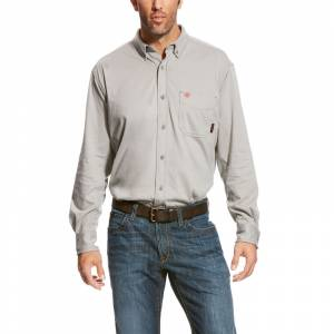 Ariat Mens FR AC Long Sleeve Work Shirt