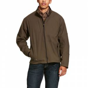 Ariat Mens Rebar Stretch Canvas Softshell Jacket