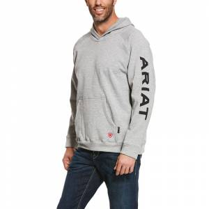 Ariat Mens FR Primo Fleece Logo Hoodie