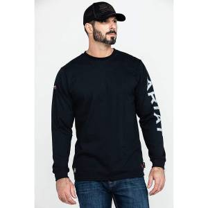 Ariat Mens Old Glory Graphic Long Sleeve T-Shirt