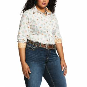 Ariat Ladies Kirby Long Sleeve Stretch Shirt