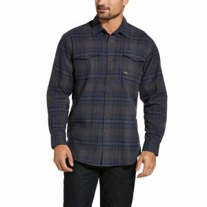 Ariat Mens Rebar Flannel DuraStretch Work Shirt