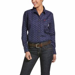 Ariat Ladies FR Sayers DuraStretch Work Shirt