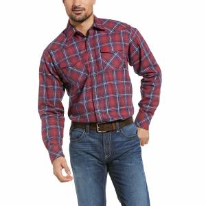 Ariat Mens FR Colquitt Retro Fit Snap Work Shirt