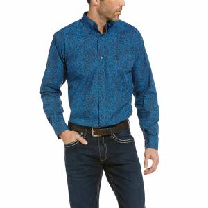 Ariat Mens Railey Fitted Long Sleeve Shirt