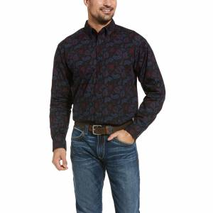 Ariat Mens Razin Classic Fit Long Sleeve Shirt