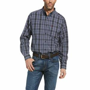 Ariat Mens Pro Series Racer Classic Fit Long Sleeve Shirt
