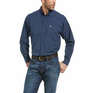 Ariat Mens Pro Series Ross Classic Fit Long Sleeve Shirt