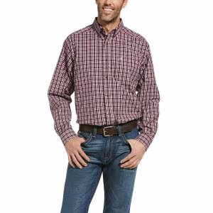 Ariat Mens Pro Series Radar Classic Fit Long Sleeve Shirt