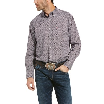 Ariat Mens Ramsdale Classic Fit Long Sleeve Shirt