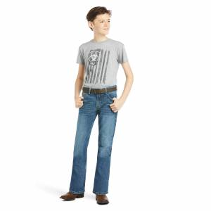 Ariat Kids B4 Relaxed Stretch Legacy Boot Cut Jeans