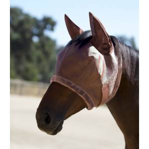 Kensington Signature Fly Mask with Plush Fleece & Ears with Forelock Hole