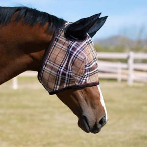 Kensington Signature Fly Mask with Web Trim, Soft Mesh Ears & Forelock opening