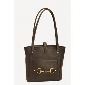 Tory Leather Small Carry All Bag with Bit
