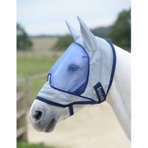 Bucas Buzz Off Deluxe Fly Mask With Ears