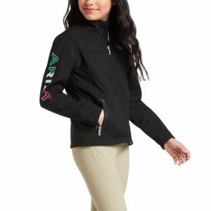 Ariat Kids New Team Softshell MEXICO Water Resistant Jacket