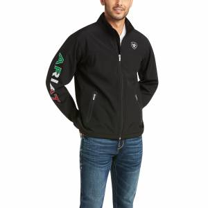 Airat Mens New Team Softshell MEXICO Water Resistant Jacket