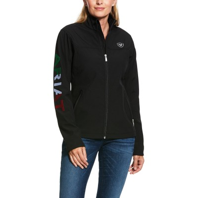 Ariat Ladies Classic Team MEXICO Softshell Water Resistant Jacket