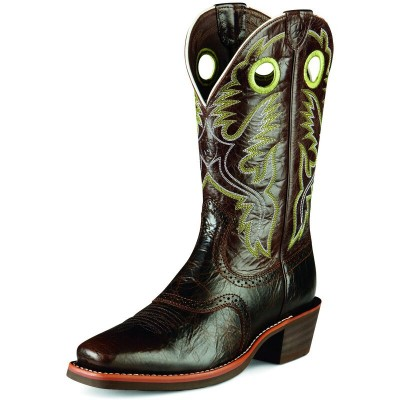 Ariat Mens Heritage Roughstock Western Boots