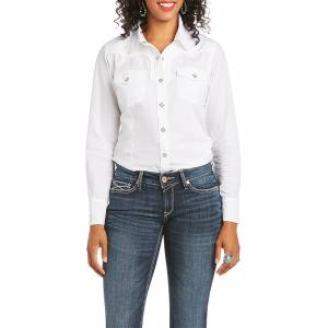 Ariat Ladies REAL Infamous Snap Long Sleeve Shirt