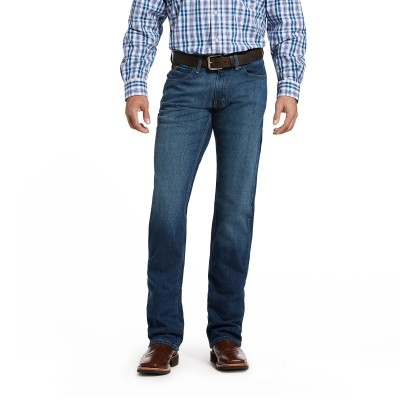 Ariat Mens M5 Slim Stretch Legacy Stackable Straight Leg Jeans
