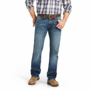 Ariat Mens M7 Slim Stretch Percell Stackable Straight Leg Jeans