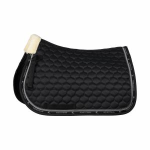 Horze Claremont All Purpose Saddle Pad with Faux Fur