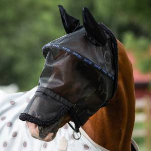 Horze Wire-Framed Fly Mask with Gap
