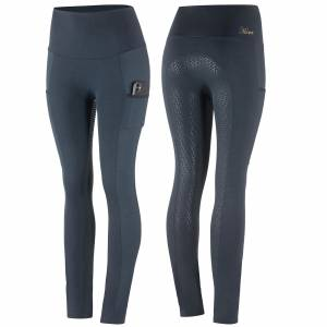 Horze Ladies Mathilde Functional Silicone Full Seat Tights