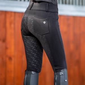 Horze Ladies Charla Winter Tights with Belt Loops