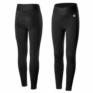 Horze Kids Active Silicone Full Seat Winter Tights