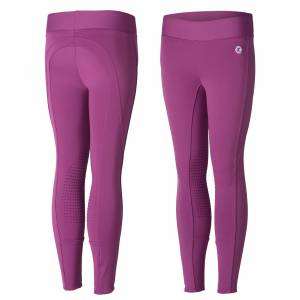 Horze Kids Active Winter Silicone Knee Patch Tights