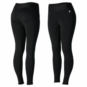 Horze Ladies Active Winter Silicone Knee Patch Tights