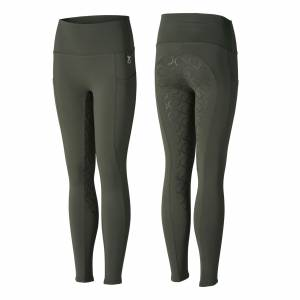 Horze Kids Gillian Silicone Full Seat Tights