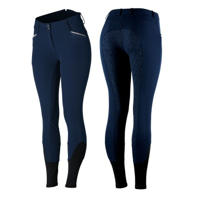 Horze Ladies Crystal Detailed Silicone Full Seat Breeches